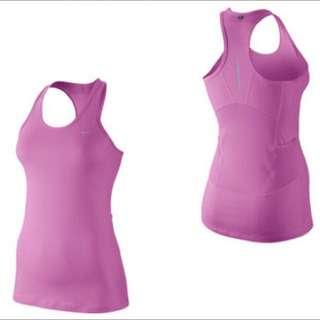 Nike Long Stretch Distance Women's Running Tank Top White