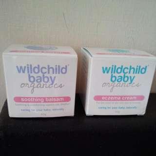 BNIB Wildchild Baby Organics Soothing Balsam & Eczema Cream (50 g)