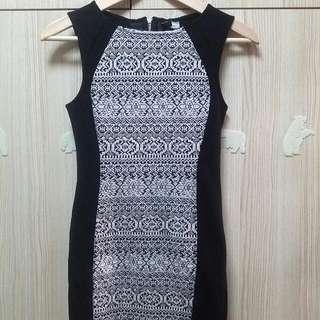 H&M Tribal Prints Party Dress