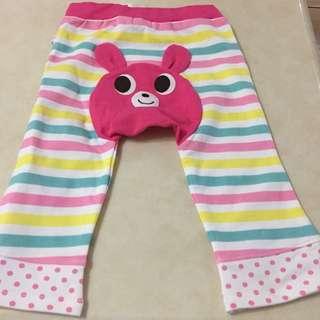 MiKi House 粉色熊熊褲褲
