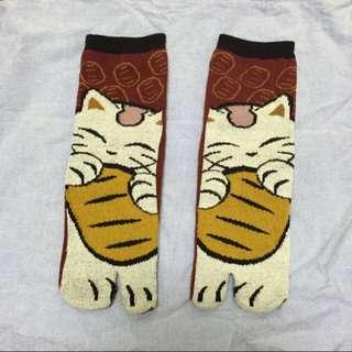 全新/可愛夾腳襪(有兩款)