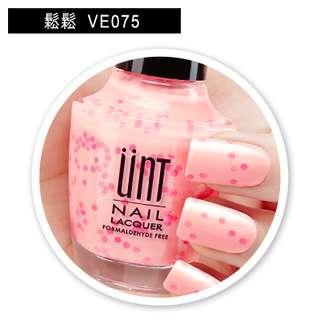 # List of Ande # 專業 指甲油 UNT 鑽石糖霜的告白 VE075 鬆鬆