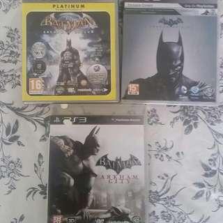 PS3 Batman Arkham Knights Games