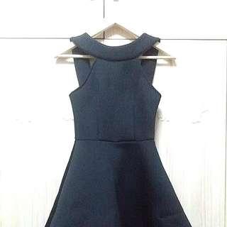 Flare Little Black Dress [BN]