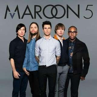 2x Maroon 5 Tickets At F1
