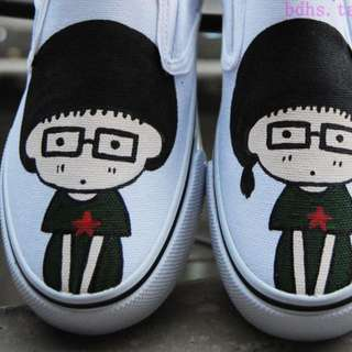 Customized Hand-painted Shoes
