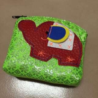 大象零錢包(綠、橘、藍)