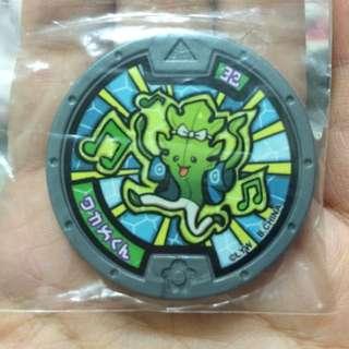 妖怪手錶,妖怪徽章,台版,正版,海帶弟弟