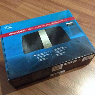 Pre-Loved Cisco Linksys E4200