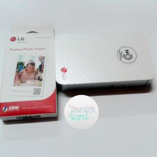 (reserved) Pocket Photo Paper