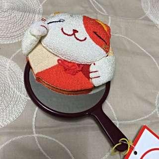 超可愛🐱全新 貓咪鏡子 日本帶回