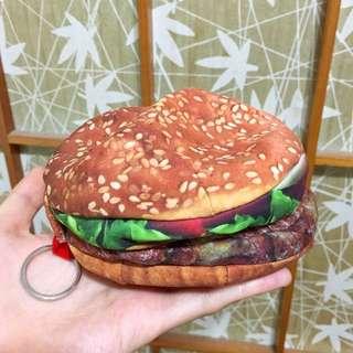 (全新✨)超擬真搞怪漢堡收納包🍔
