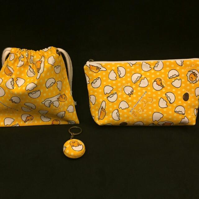 蛋黃哥化妝包、筆袋