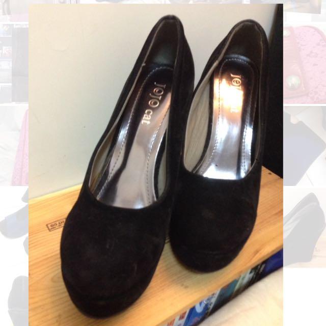 契型鞋 黑色39號 降價!!!