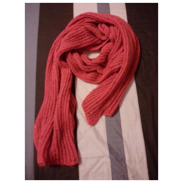 針織圍巾 超保暖