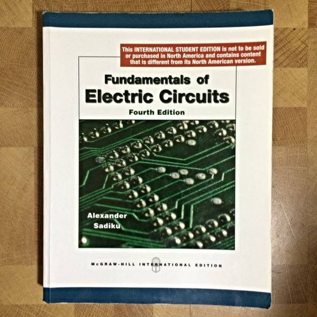電路學 Fundamentals if Electric Circuits