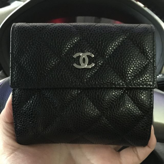 f14c748e83bb3b Chanel Short Wallet Black Caviar | Stanford Center for Opportunity ...
