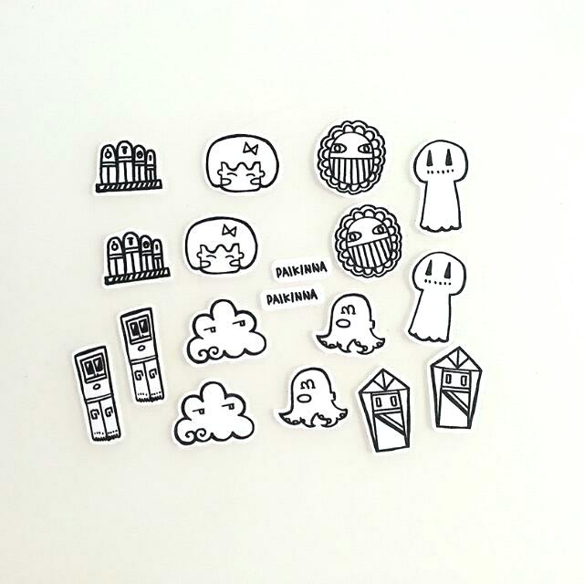 Doodle Stickers Pack 01