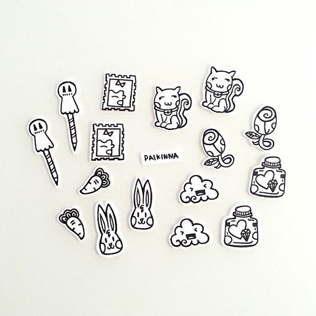 Doodle Stickers Pack 02