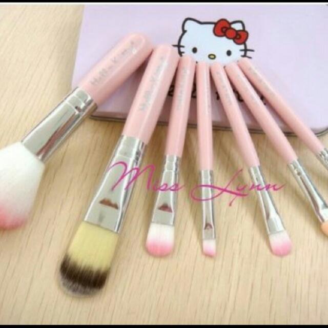 【現貨出清】Hello Kitty刷具七件套組