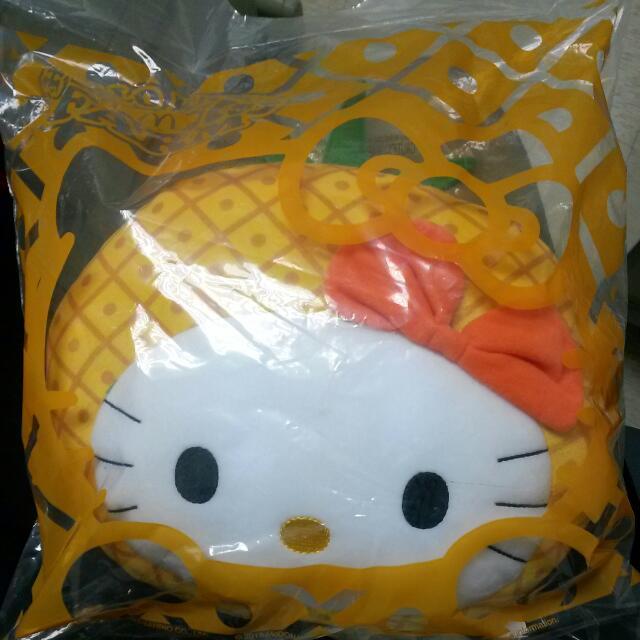Hello kitty 限量 鳳梨kitty