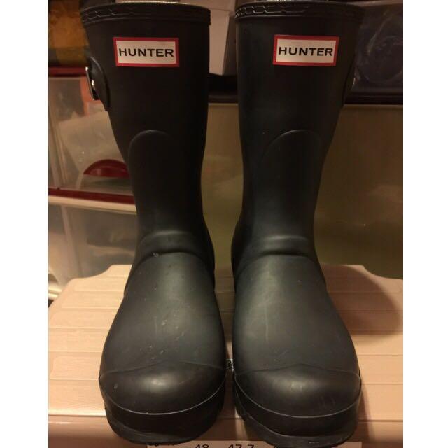 (二手)HUNTER雨鞋 UK4/US6