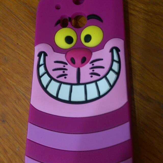 保留,愛麗絲奇幻貓M8手機殼保護套