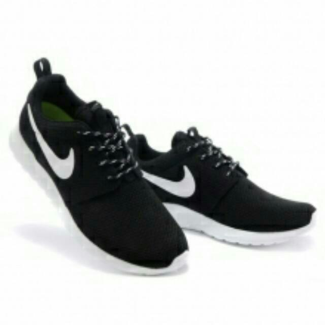 (出貨快速)Nike Roshe Run黑白款式