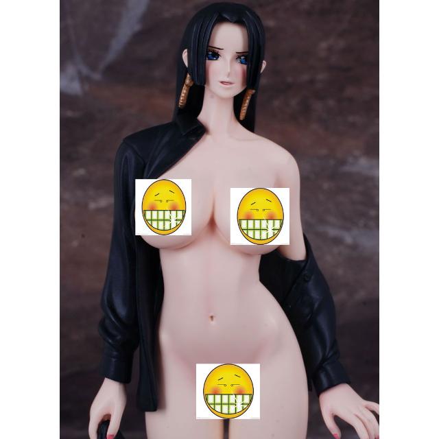 One Piece Boa Hancock Black Coat Figure Adult Only J Pop