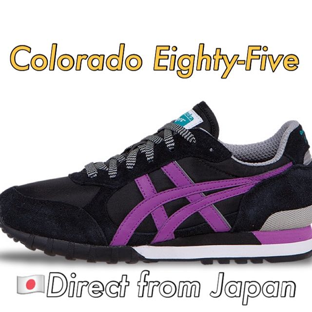 hot sale online 39bb3 48d3c Onitsuka Tiger Colorado Eighty-Five (Women) - Black/Hyacinth Violet