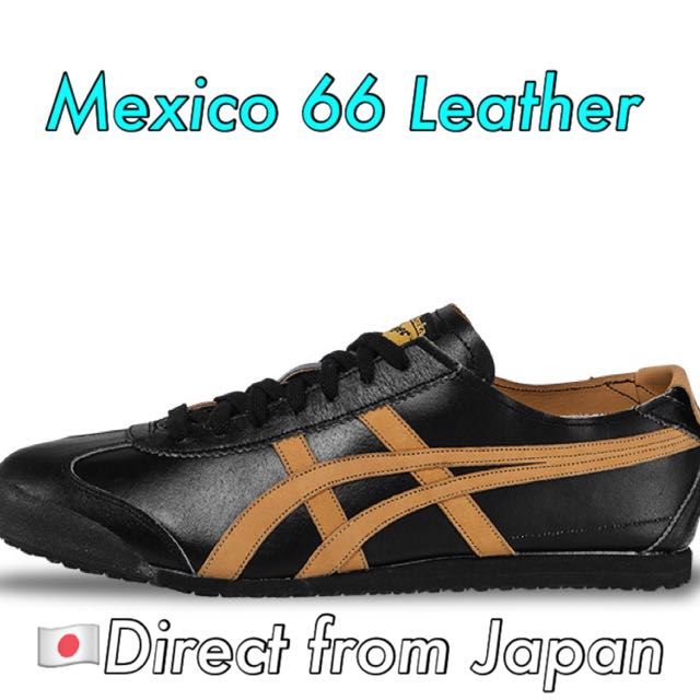 sports shoes 87968 de29c Onitsuka Tiger Mexico 66 (Unisex) - Black/Tan, Sports on ...