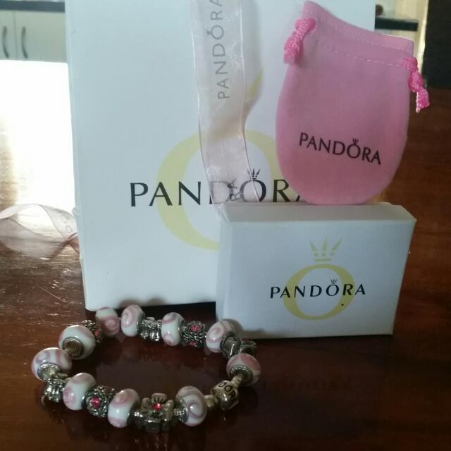 photo photo photo photo photo & Pandora Bracelet With Gift Box Luxury on Carousell