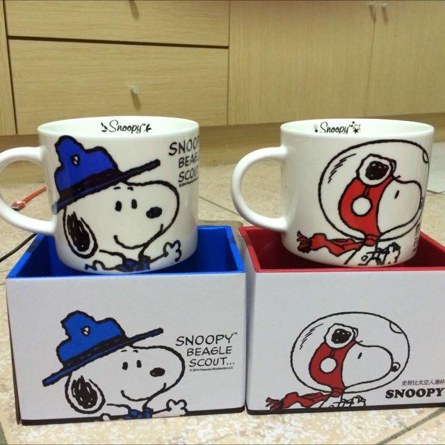 全新Snoopy 湯杯