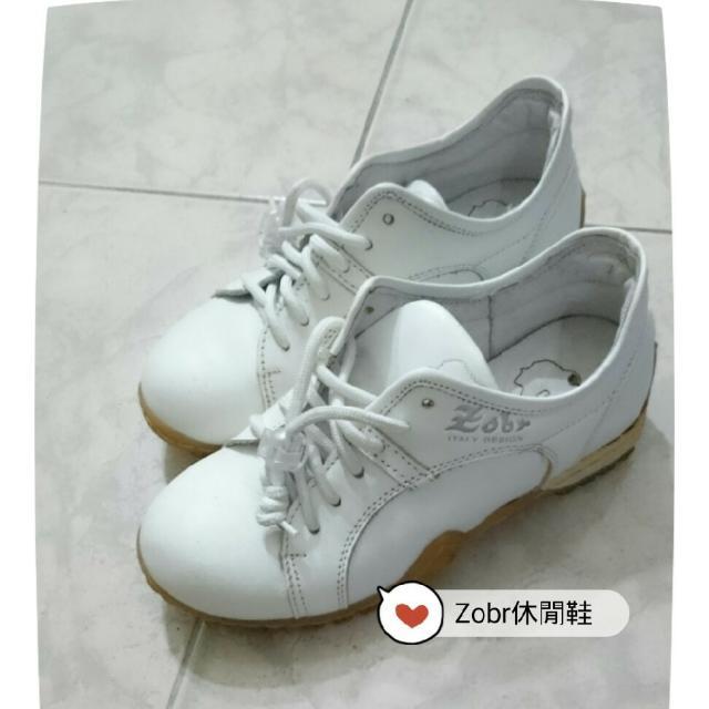 Zobr 白色休閒鞋慢跑鞋
