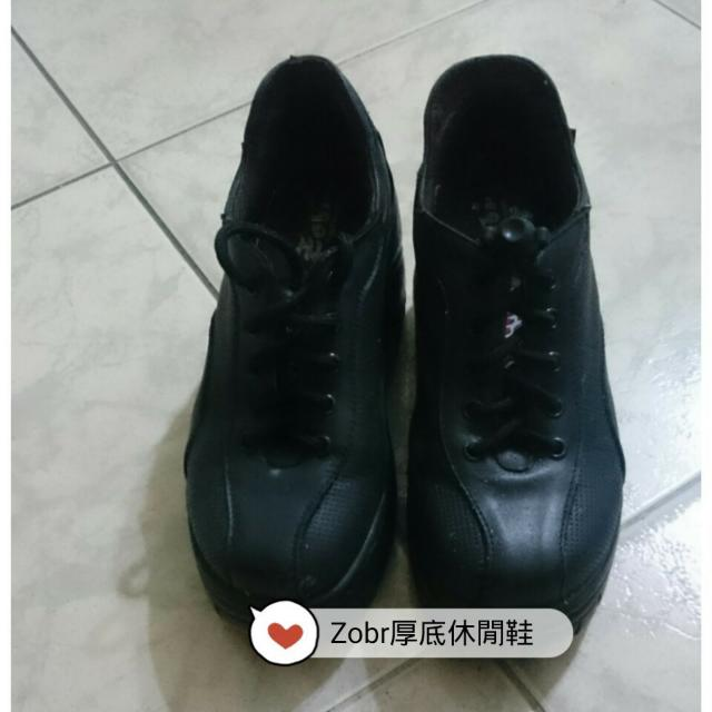 Zobr 厚底休閒鞋慢跑鞋