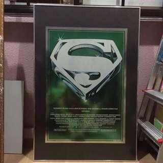 Superman Poster Super Rare