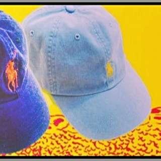 Ralph Lauren Polo淺藍帽