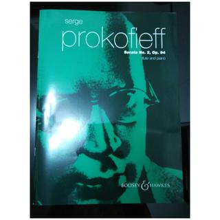 普羅高菲夫 長笛奏鳴曲 全新 Prokofieff: Flute Sonata No.2 Op.94 - for Flute and Piano (Boosey & Hawkes)