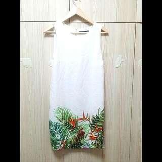 Printed Shift Dress