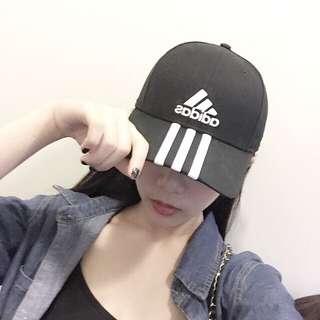 (保留)Adidas黑色 棒帽