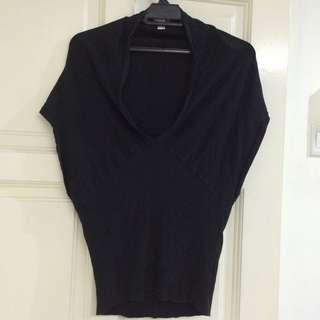 Collette Black Top