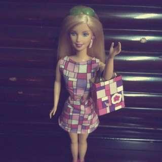 2000 Mattel 美泰兒 Hip 2 Be Square Barbie 無盒 絕版芭比娃娃 古董玩具