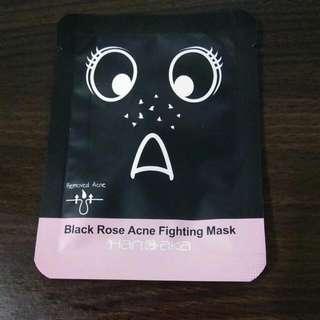 (滿300元贈品)黑玫瑰終結粉刺撕除面膜