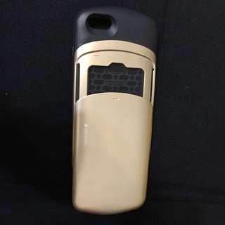 🚚 金色可插卡式手機殼iphone6-5.5