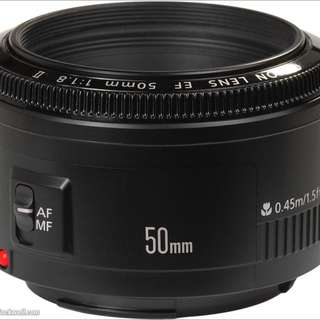 Canon EF 50mm f/1.8 mark II