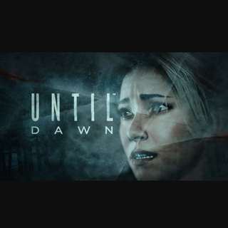 Ps4 Until Dawn - Reserved