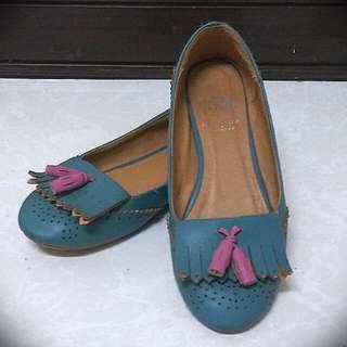 馬卡龍平底娃娃鞋