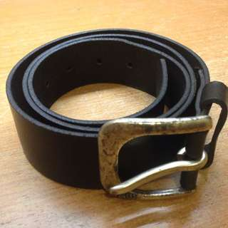 Gstar/ G-star/ G Star Vintage Black Belt