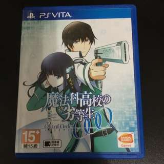 Mahouka Koukou No Rettousei Out Of Order