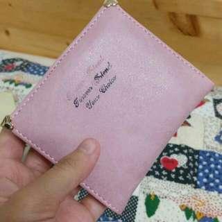 粉紅 短夾 皮夾 💕